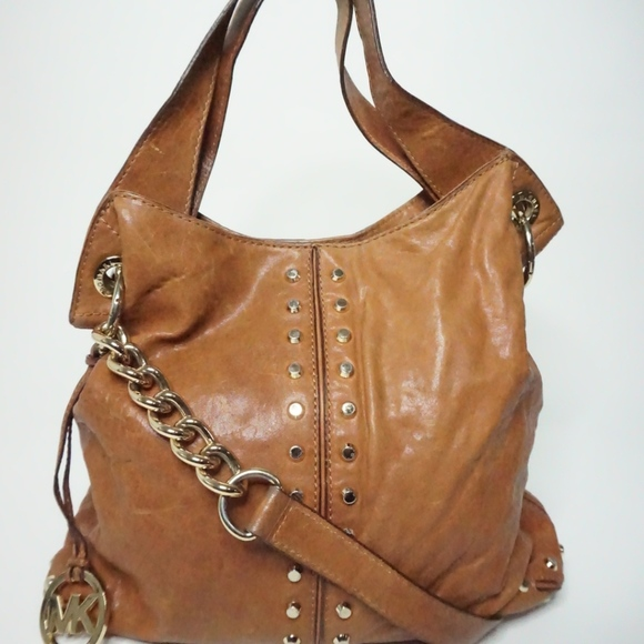 "382131037e64 ""Uptown Astor"" Michael Kors Tortuga Leather Bag. M_5a999b548df470f6e1600528"